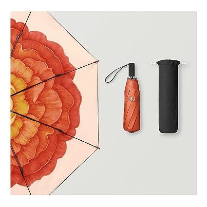 Paraguas Protector solar sombrilla plegable mujeres UV sombrillas QIQIDEDIAN