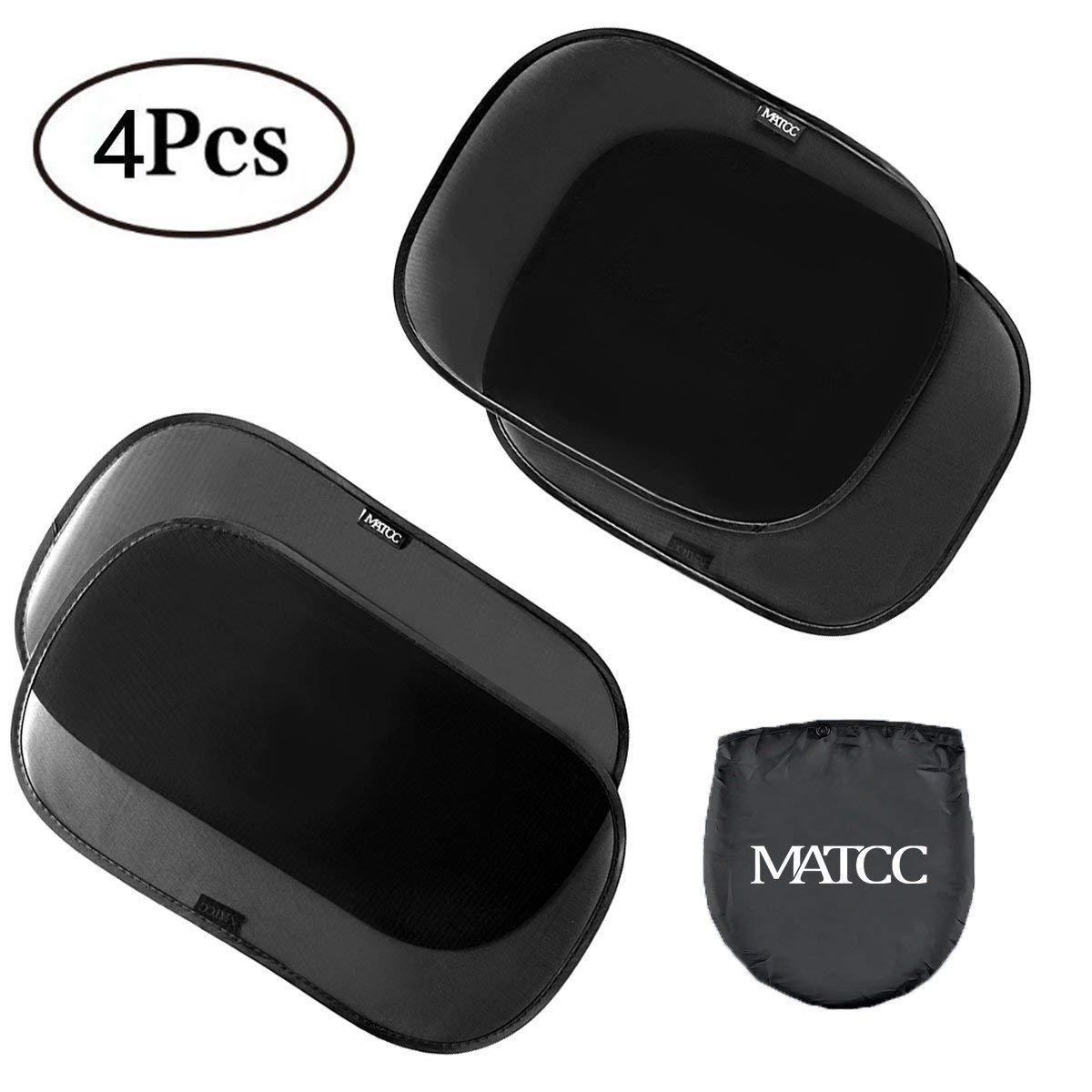 MATCC Auto Rückenlehnenschutz 2 Stück Auto Kinder Organizer mit iPad Tablet Tasche Wasserfester Rücksitzschoner Trittschutz Anhängematte Kick-Matten-Schutz Tablet Halterung (65 * 48cm) MATCCwoitxol213