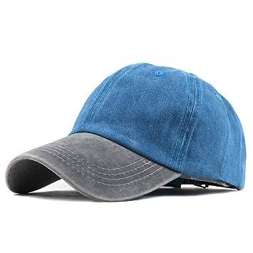 ZLJII Sombrero De Dril De Algodón Lavado Snapback Sombreros Otoño ...