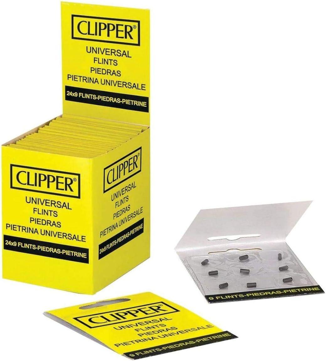Clipper grandes clásicos piedras (, 24 paquetes de 9 piedras)