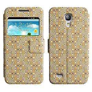 LEOCASE patrón de la caja Funda Carcasa Cuero Tapa Case Para Samsung Galaxy S4 Mini I9190 No.1004706