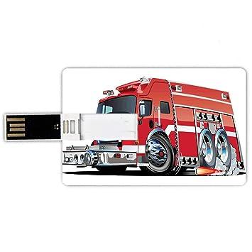 8GB Forma de tarjeta de crédito de unidades flash USB Coches ...