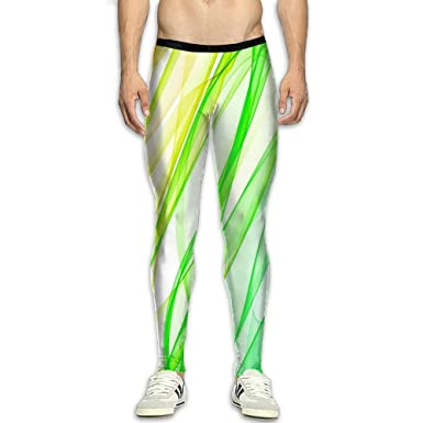 8d25877a9e07ba Virgo Rainbow colorful Long Compression Pants/Running Tights Athletic Leggings  Men Fitness Worker High Waist
