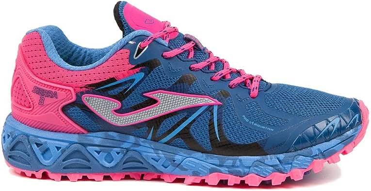 Joma TK-Sierra lady 719 purple - zapatillas running montaña mujer color lila (40): Amazon.es: Zapatos y complementos