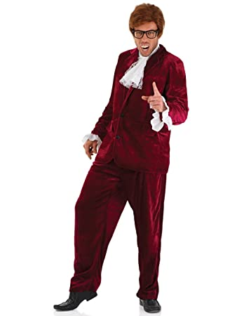 Fun Shack Adult Austin Powers Red Costume - X LARGE  sc 1 st  Amazon UK & Fun Shack Adult Austin Powers Red Costume - X LARGE: Funshack ...