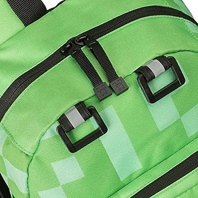 JINX Minecraft Creeper Kids Mini Backpack, Green, 12