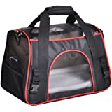 Soyan Deluxe Pet Travel Carrier, Soft Side, Suitable for Cats and Small Dogs, Comes with Shoulder Strap
