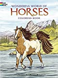 : Dover Publications-Wonderful World Of Horses Coloring Book (Dover Nature Coloring Book)