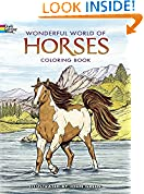 #10: Dover Publications-Wonderful World Of Horses Coloring Book (Dover Nature Coloring Book)