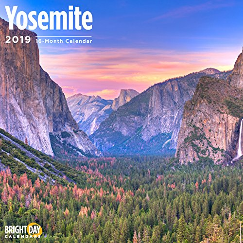 Yosemite 2019 16 Month Wall Calendar 12 x 12 ()