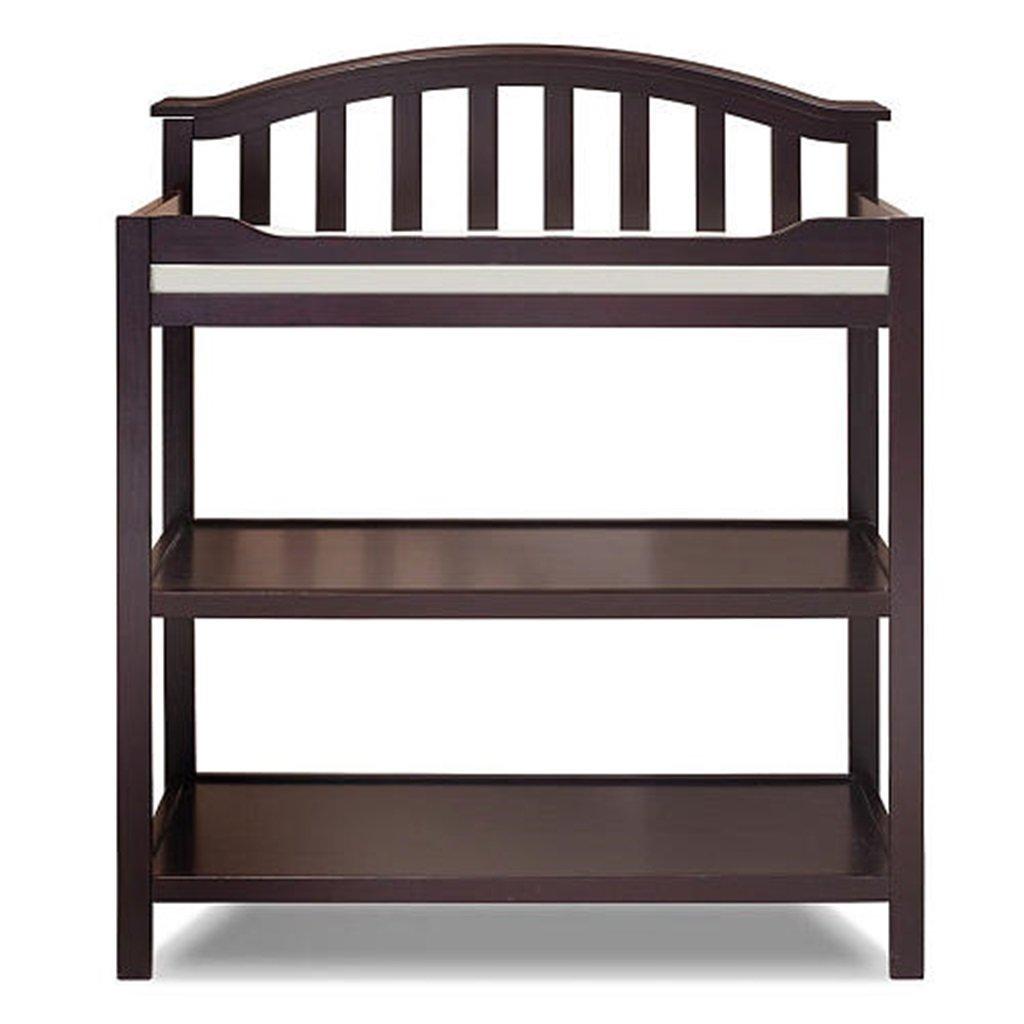 【新品、本物、当店在庫だから安心】 DS- 乳児用フェンス Brown 乳児用フェンス ベビーテーブルを変更するアメリカのソリッドウッドベビーおむつ交換ラック看護デスクシャワースタンドマッサージテーブルおむつパッドのシートベルト0~8ヶ月の赤ちゃん&& (色 : Brown) DS- Brown B07PJ52JPP, シモミノチグン:c547df67 --- a0267596.xsph.ru