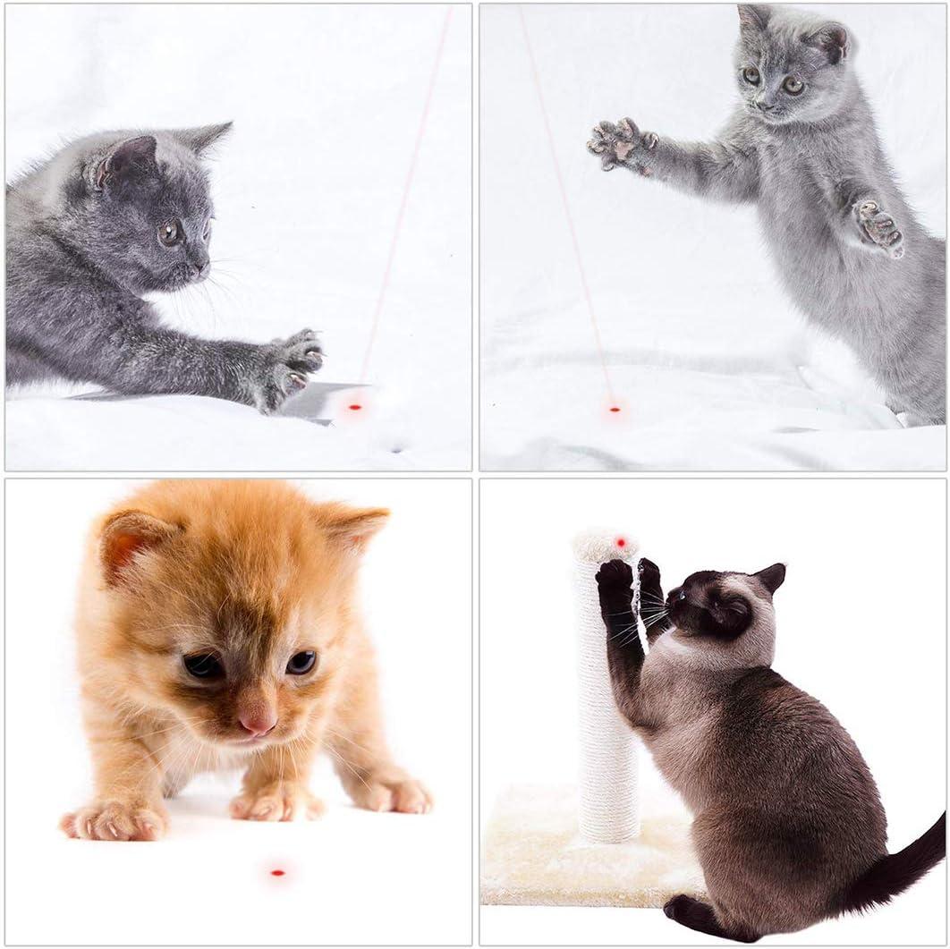 Dioxide 7 Piezas de Juguetes para Gatos, Juguete de Plumas de Gato ...