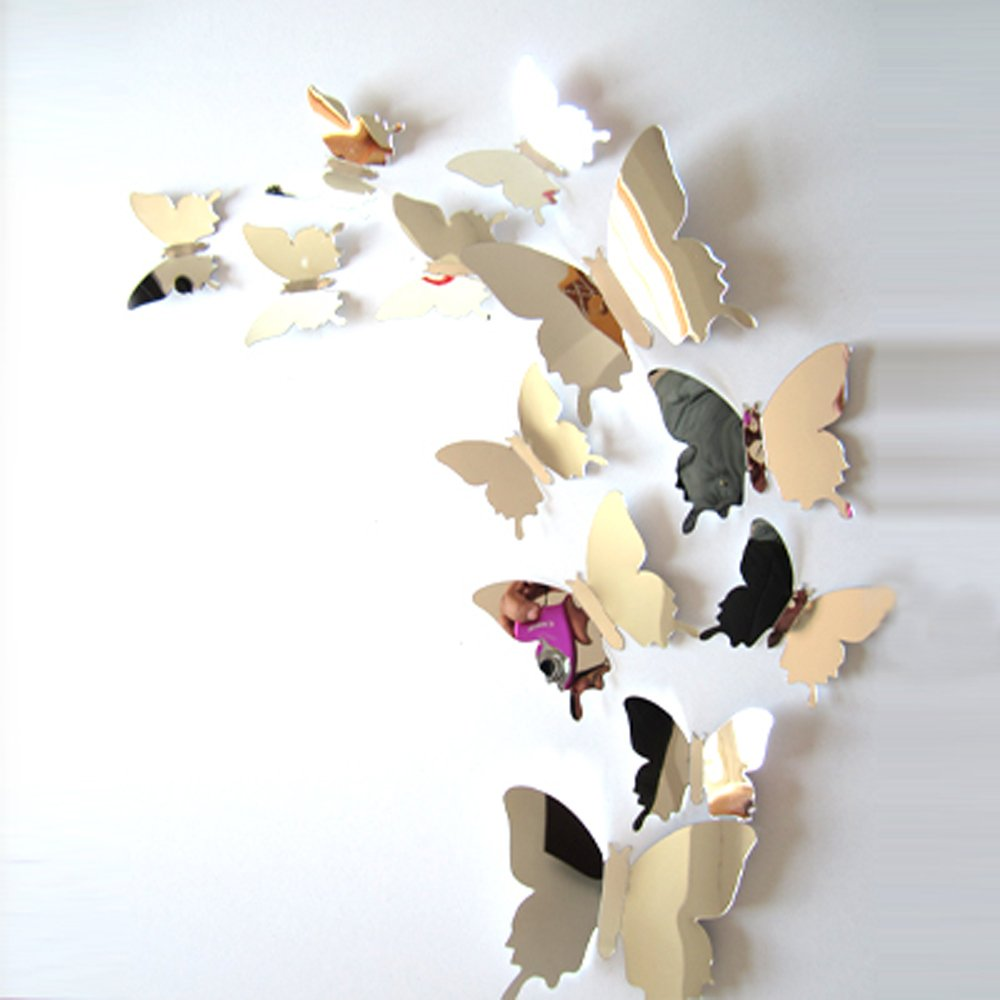 Vinilo Decorativo Pared [0xjxhbd4] Mariposas 3d