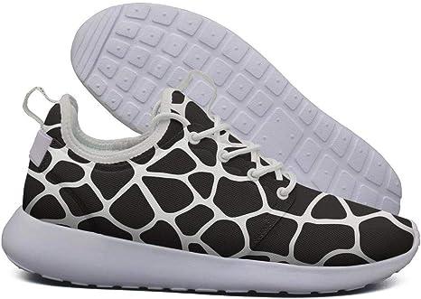 LOKIJM Animal Giraffe Head Sneaker Zapatos para Mujer Deportivos ...