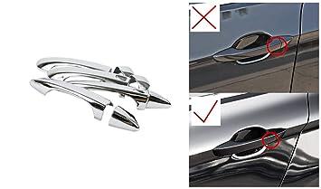 HIGH FLYING para Passat B8 Variant Sedan 2015 – 2018 Cromado Exterieur Puerta Mango Styling Listones