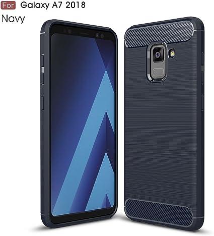Samsung Galaxy A7 2018 Funda, MHHQ Cubierta Delgado material de ...