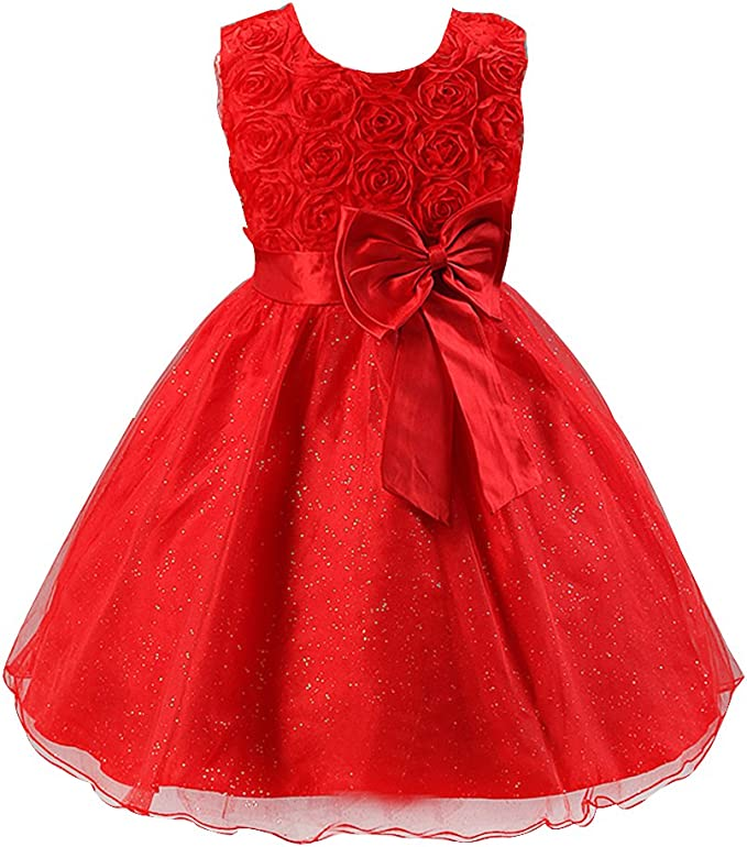 Robe Fille Princesse Rouge 90 Amazon Fr High Tech