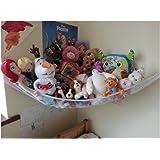 Stuffed Animal Hammock, Powkoo Toy Hammock Plush Toy Storage Net Organizer for Stuffed Animals, Nursery Play, Teddies(59 x 39