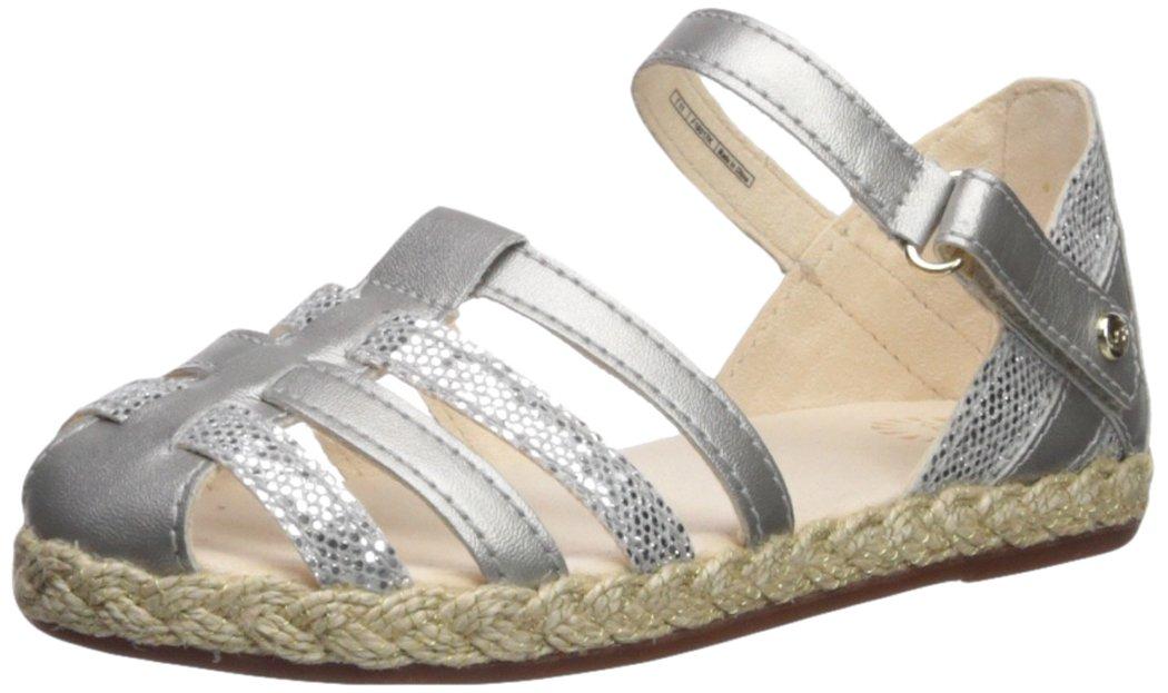 UGG Girls T Matilde Sparkles Flat Sandal, Metallic, 7 M US Toddler by UGG