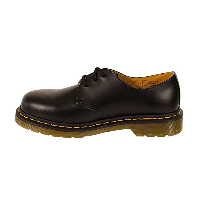 Dr. Martens 3-eye Leather Shoes (B1461Z) F-8-01-037-00 - Zapatos unisex, color negro, talla 42