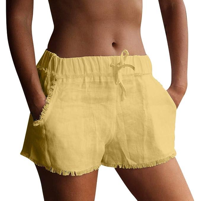 Vectry Pantalón Ancho Mujer Pantalones Cortos Deportivos ...