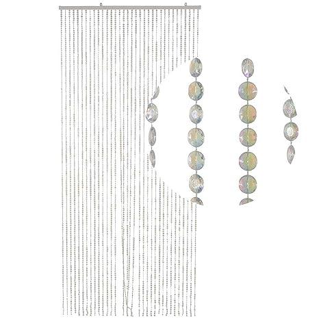 90 x 200 cm KLAR Kunststoff HAB /& GUT Türvorhang MINI-DIAMANTEN