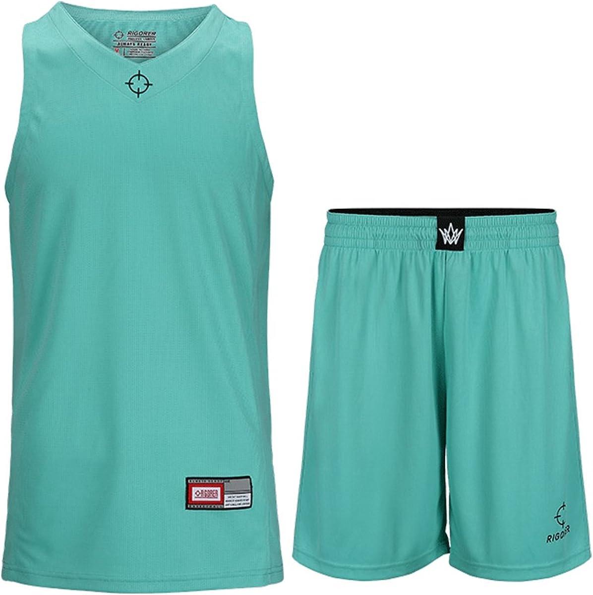 Amazon.com: rigorer baloncesto Jersey y pantalones cortos de ...