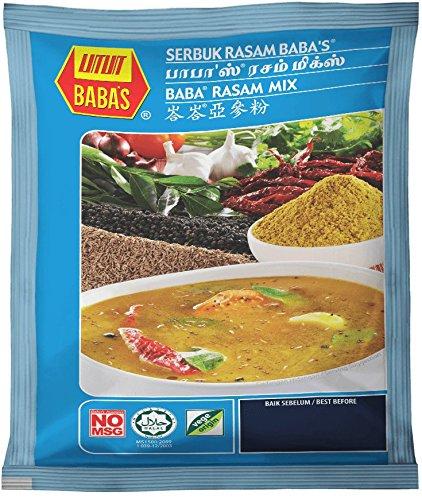 Amazon com : Malaysia Best Brand/Baba's Rasam Mix/Medley of Pure