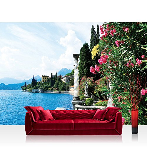 Pillars Framed Poster (Mural no. 817 !!! Non-Woven Wallpaper !!! 78.7 x 55.1 inches (200x140 cm) !!! 100% Made in Germany)