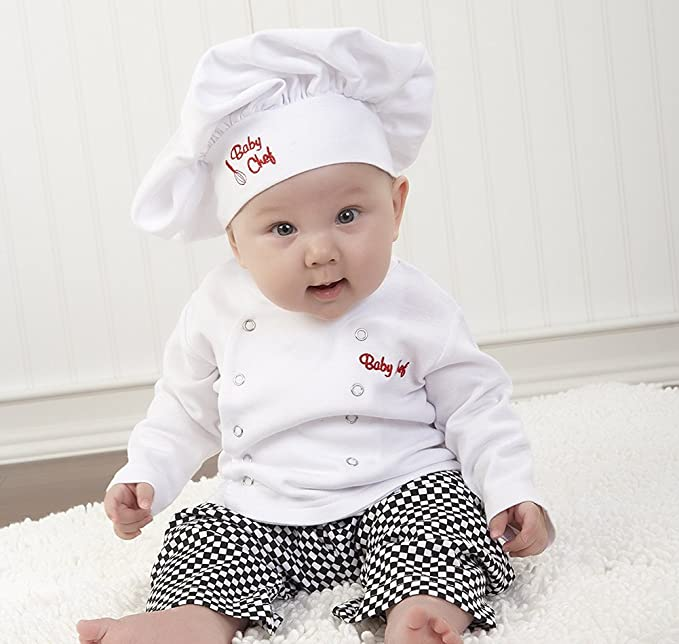 FANCYINN Infantil Bebé Chef Cocinero Traje Pijamas de ...