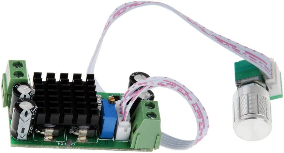 SM SunniMix 5V 12V 24V 1A PWM Brush Y Brushless DC Cooling Cool Fan Controller De Velocidad