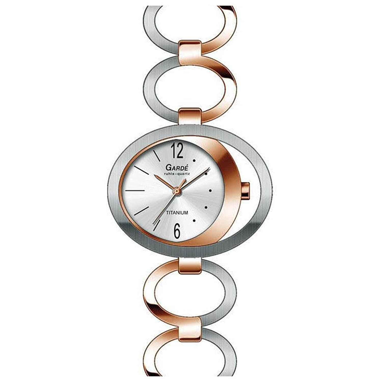 GardÉ (by Ruhla) Uhr Damen Titan Armbanduhr Modell Elegance 28445
