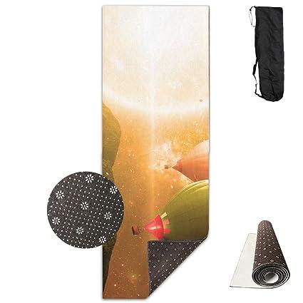 Amazon.com : Sun Ballon Yoga Mat Towel For Bikram/Hot Yoga ...