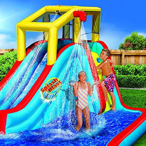 Pool Water Splash: Banzai Spring & Summer Toys Slide 'N Soak Splash Park