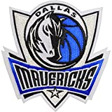 Official Dallas Mavericks Logo Large Sticker Iron On NBA Basketball Patch Emblem