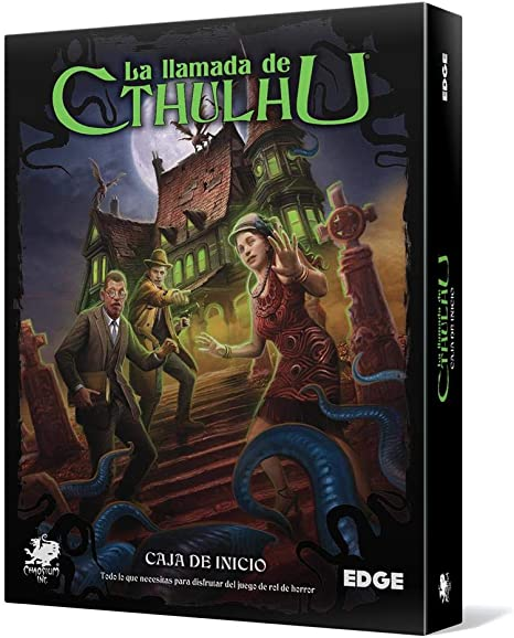 Edge Entertainment- Caja de Inicio: La Llamada de Cthulhu, Color (EECHCT04): Amazon.es: Juguetes y juegos