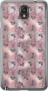 Loud Universe Samsung Galaxy Note 3 Love Valentine Printing Files A Valentine 72 Printed Transparent Edge Case - Multi Color