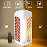 StarryBay Aroma Diffuser Essential Oil Diffuser with Whisper-Quiet Operation, Automatic Shut-Off, Night Light & Light off Function for Home Bedroom Office …