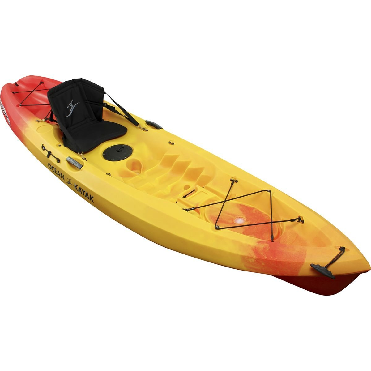 Amazon Ocean Kayak Scrambler 11 Sit On Top Recreational Sunrise Sports Outdoors