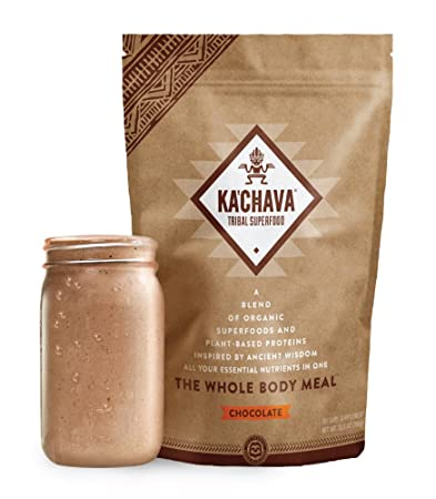 50ab087c1da Ka Chava Meal Replacement Shake - A Blend of Organic Superfoods and  Plant-Based