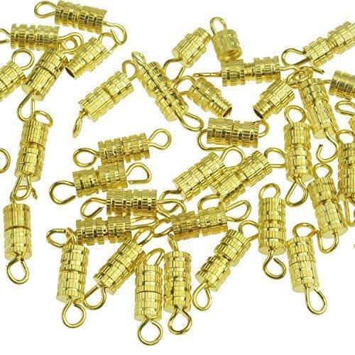 Barrel Screw-100pcs-screw Type Clasp 4x15mm-10 with Ellami® Retail