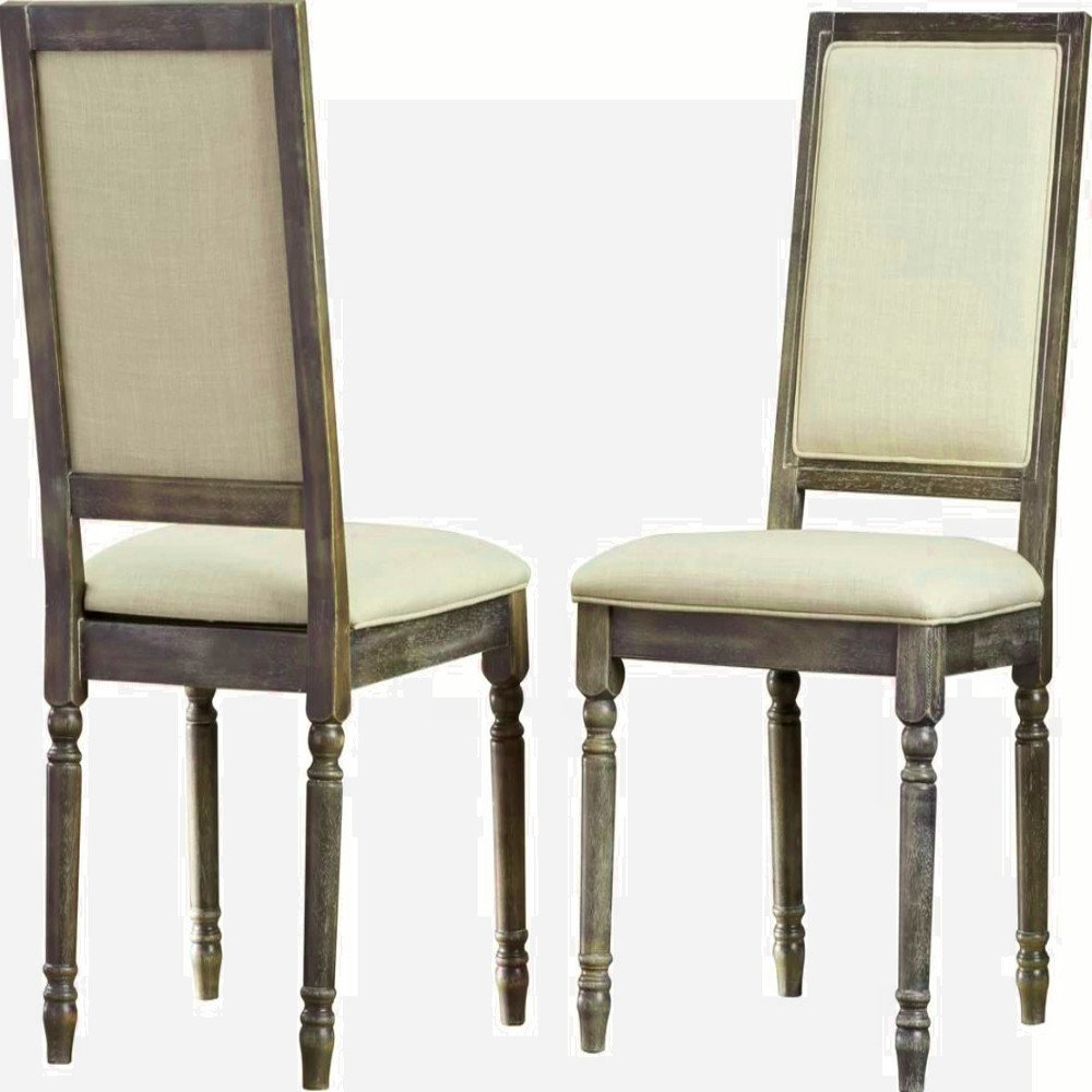 Formal Dinning Room Chairs Armless High Back For Living Tufted Upholstered Dining Chair Cushion Side