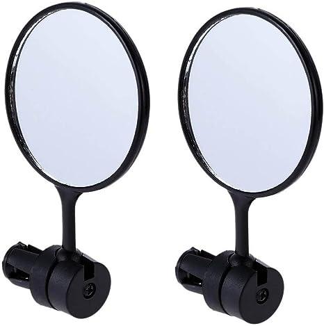 2 espejos retrovisores redondos para bicicleta, espejo retrovisor ...