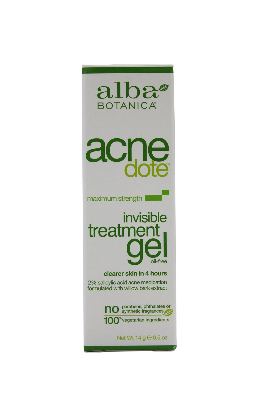 Alba Botanica Natural Acnedote Invisible Treatment Gel, 0.5 Ounce -- 2 per case.