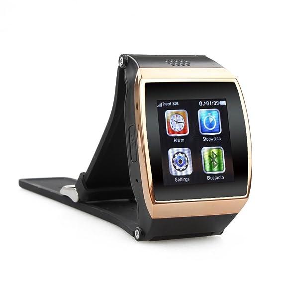 Flylinktech® L15 hiwatch reloj inteligente teléfono bluetooth LED de 1,55 pulgadas muñeca cuarzo