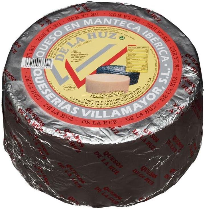 De La Huz Queso Gourmet en Manteca, Leche Pasteurizada Pequeño - 1100 gr: Amazon.es: Alimentación y bebidas