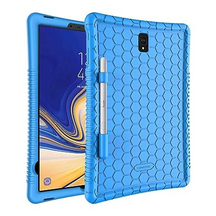 best cheap a04ff b0853 Amazon.com: Fintie Silicone Case for Samsung Galaxy Tab S4 10.5 2018 ...