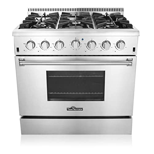 Thor Kitchen 36 Inches Freestanding Professional Style Gas Range