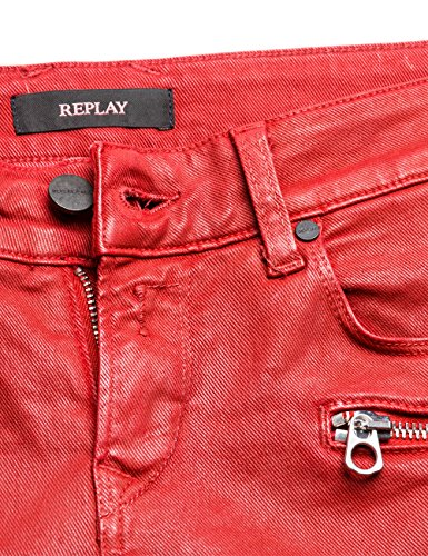 Brigidot Donna Skinny red 50 Jeans Rosso Replay tqdH7t