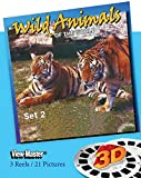 ViewMaster- Wild Animals of the World #2 - 3 Reels on Card - NEW